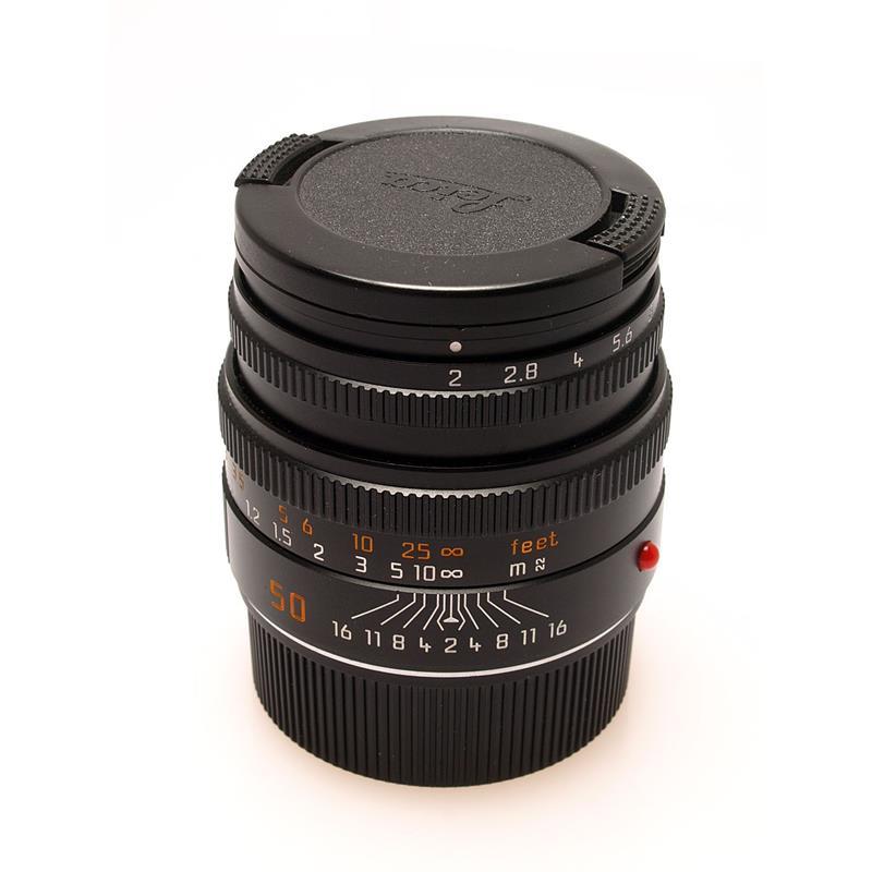 Leica 50mm F2 M Black 6bit Thumbnail Image 0