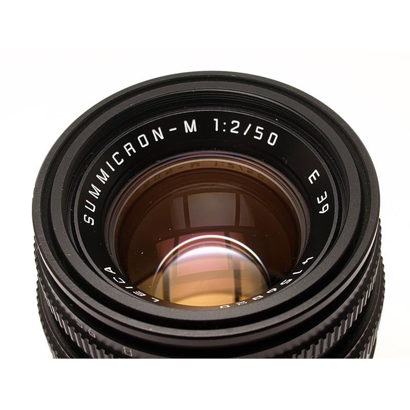 Leica 50mm F2 M Black 6bit Thumbnail Image 1