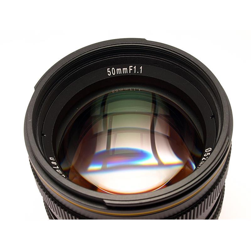 Kamlan 50mm F1.1 - Fuji X Thumbnail Image 1