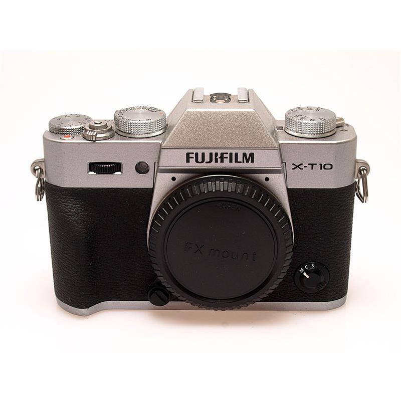 Fujifilm X-T10 Silver Body Only Thumbnail Image 0