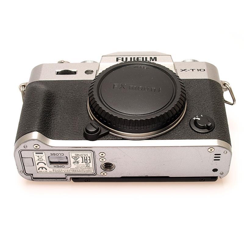 Fujifilm X-T10 Silver Body Only Thumbnail Image 2