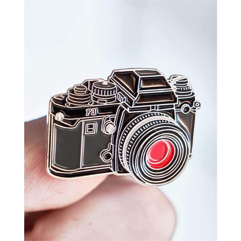 Offcial Exclusive Nikon F3 - Pin Badge Image 1