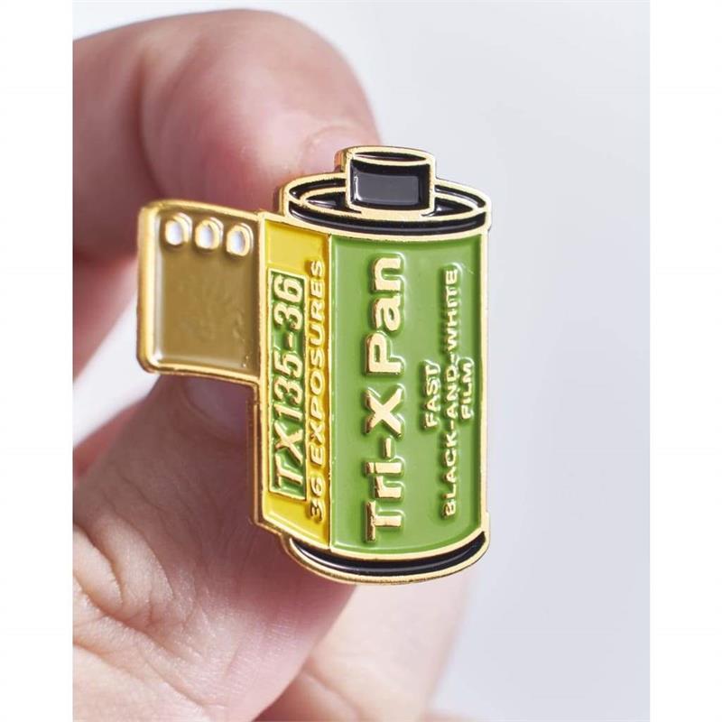 Offcial Exclusive Kodak Tri-X Pan 400 35mm Film - Pin Badge Image 1