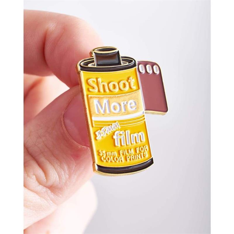 Offcial Exclusive Shoot more 35mm Film - Pin Badge Image 1