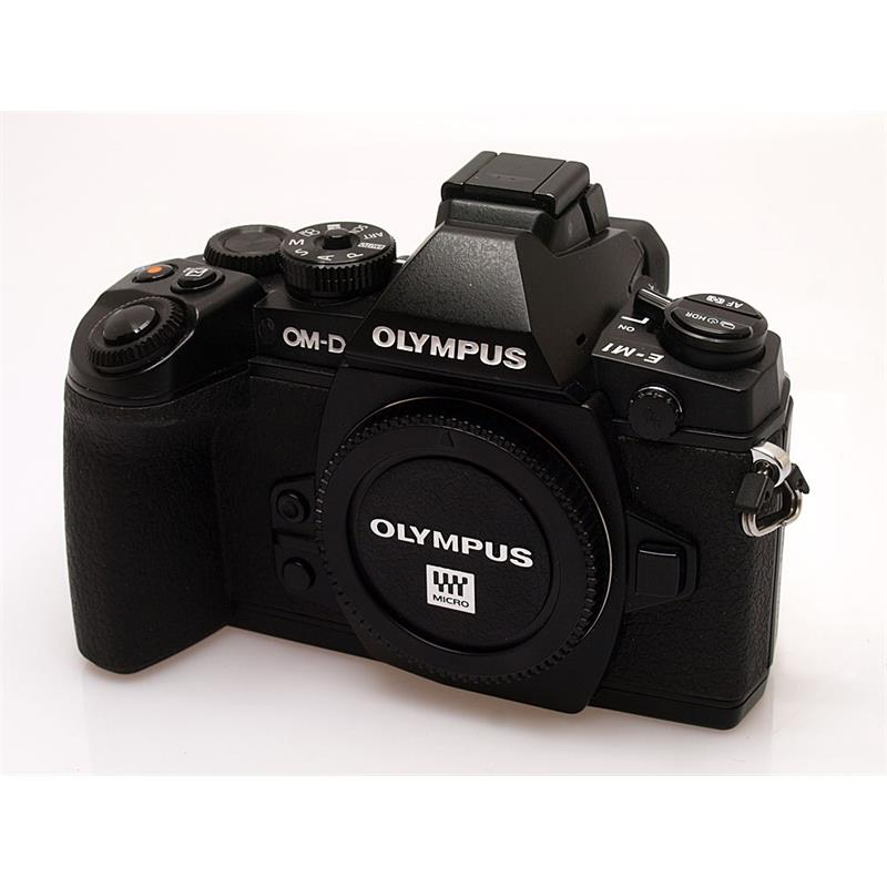 Olympus E-M1 Black Body Only Thumbnail Image 0