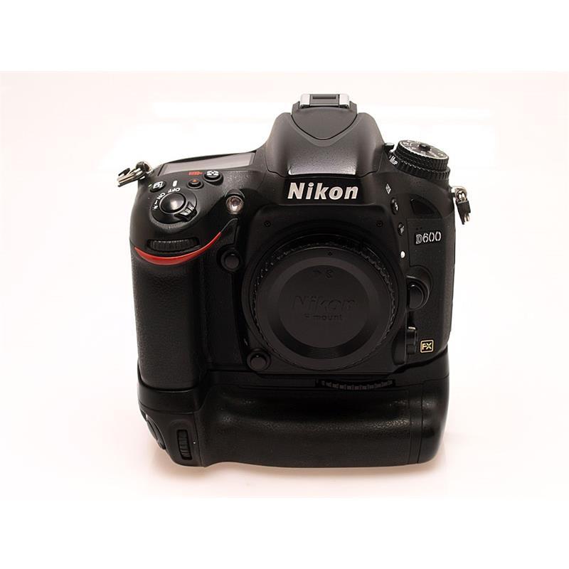 Nikon D600 Body + MB-D14 Grip Thumbnail Image 0