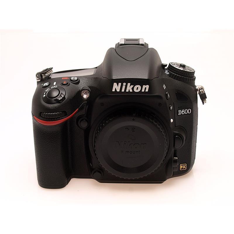 Nikon D600 Body + MB-D14 Grip Thumbnail Image 2