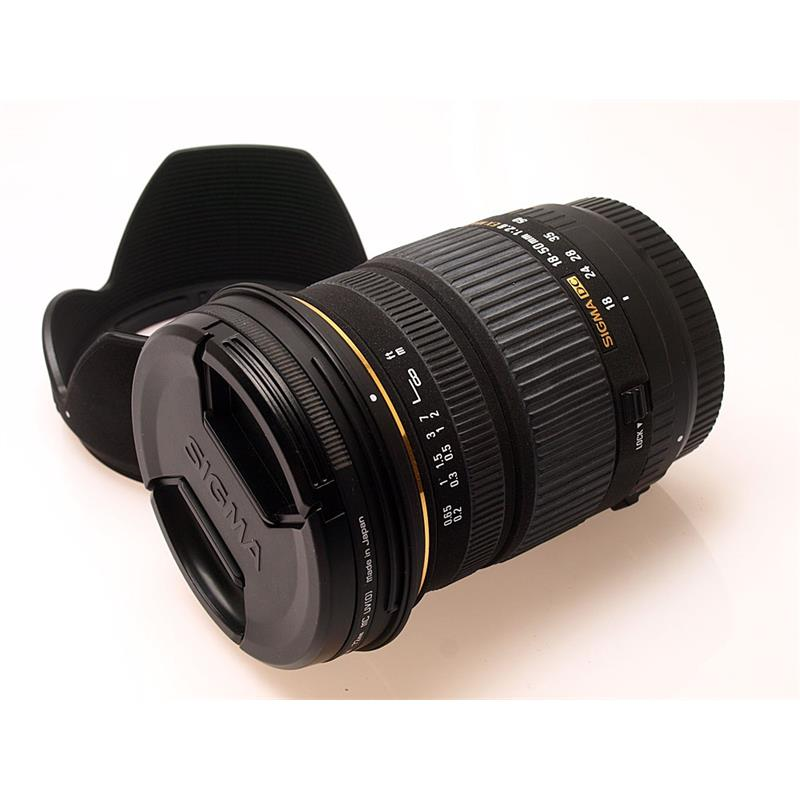 Sigma 18-50mm F2.8 EX DC - Canon EOS Thumbnail Image 0
