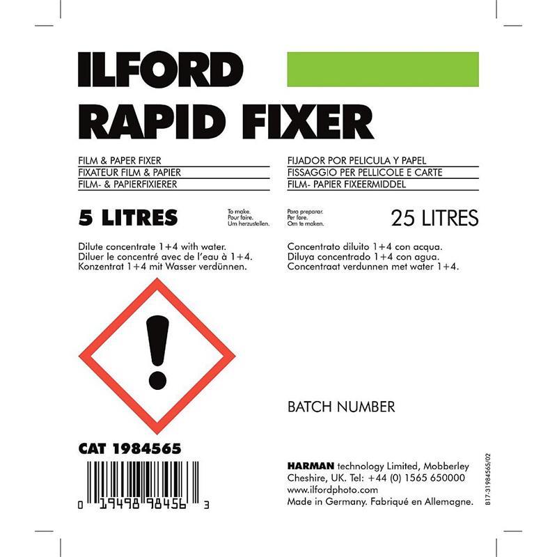 Ilford Rapid Fixer 5Ltr Thumbnail Image 1