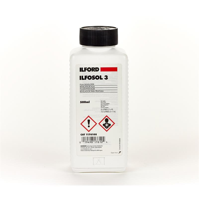 Ilford Ilfosol 3 Developer 500ml Thumbnail Image 1