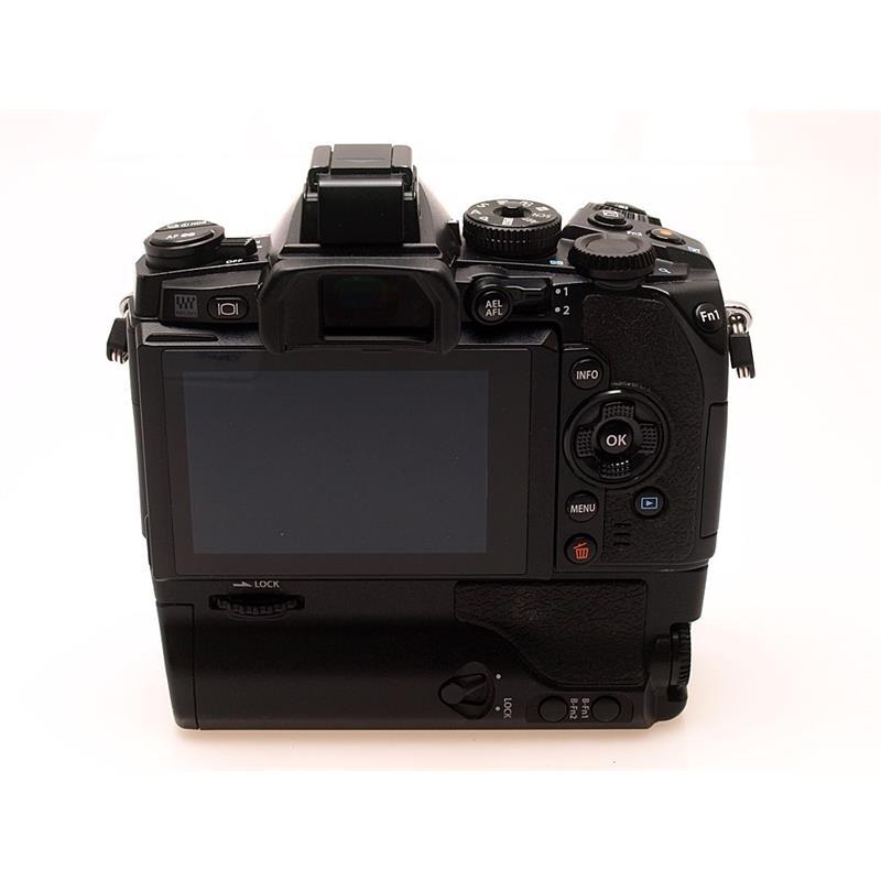Olympus E-M1 Black Body + HLD-7 Grip Thumbnail Image 1