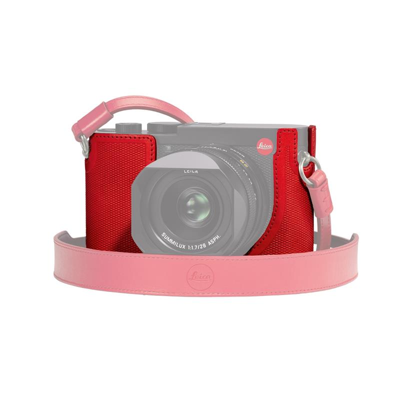 Leica Q2 Leather Protector 19568 - Red Image 1