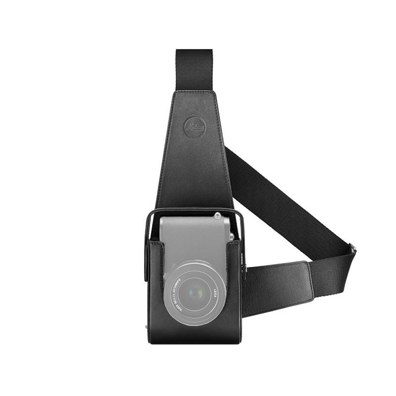Leica Q2 Leather Holster 19577 - Black Thumbnail Image 0