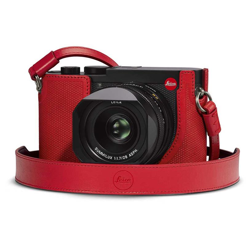 Leica Q2 Carrying Strap 19572 - Red Image 1