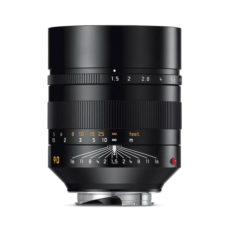 Leica 90mm F1.5 Summilux Asph M - Black Thumbnail Image 0