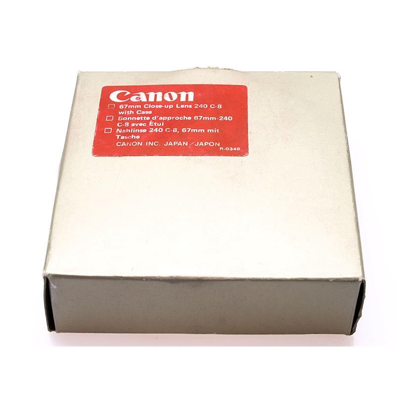 Canon 67mm Close Up Lens 240 Thumbnail Image 1