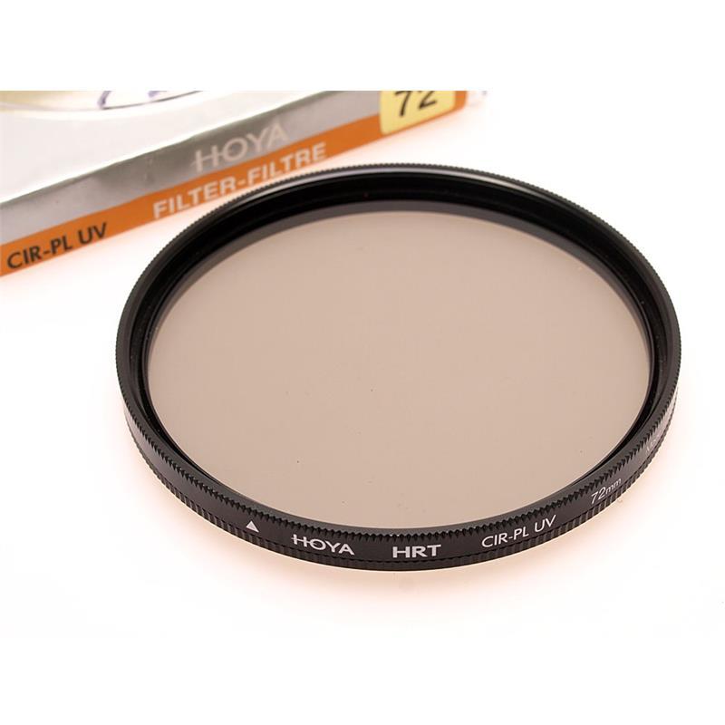 Hoya 72mm HRT Circular Polariser/UV Image 1