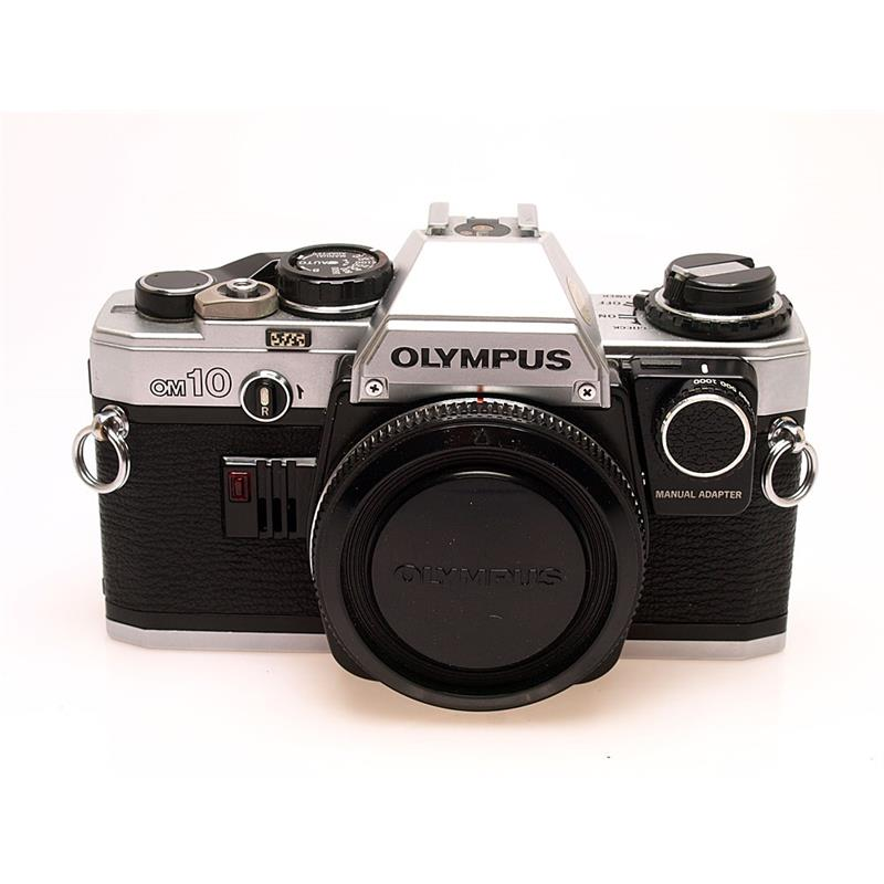 Olympus OM10 Chrome Body + Manual Adapter Thumbnail Image 0