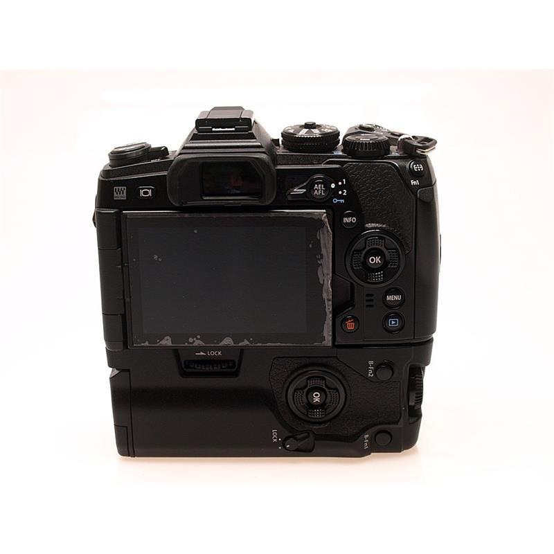 Olympus E-M1 II Body + HLD-9 Grip Thumbnail Image 1
