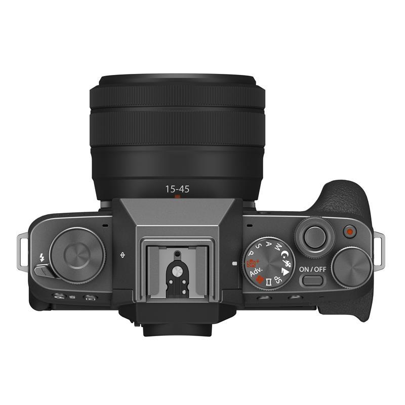 Fujifilm X-T200 + 15-45mm XC - Dark Silver / Black Thumbnail Image 2