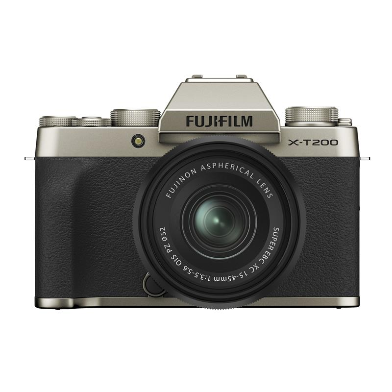 Fujifilm X-T200 + 15-45mm XC - Champagne Gold / Black Thumbnail Image 0