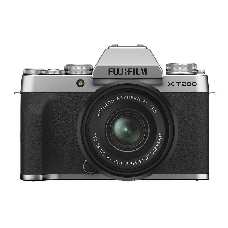 Fujifilm X-T200 + 15-45mm XC - Silver / Black Thumbnail Image 0