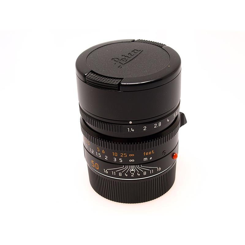 Leica 50mm F1.4 Asph M Black 6bit Thumbnail Image 0
