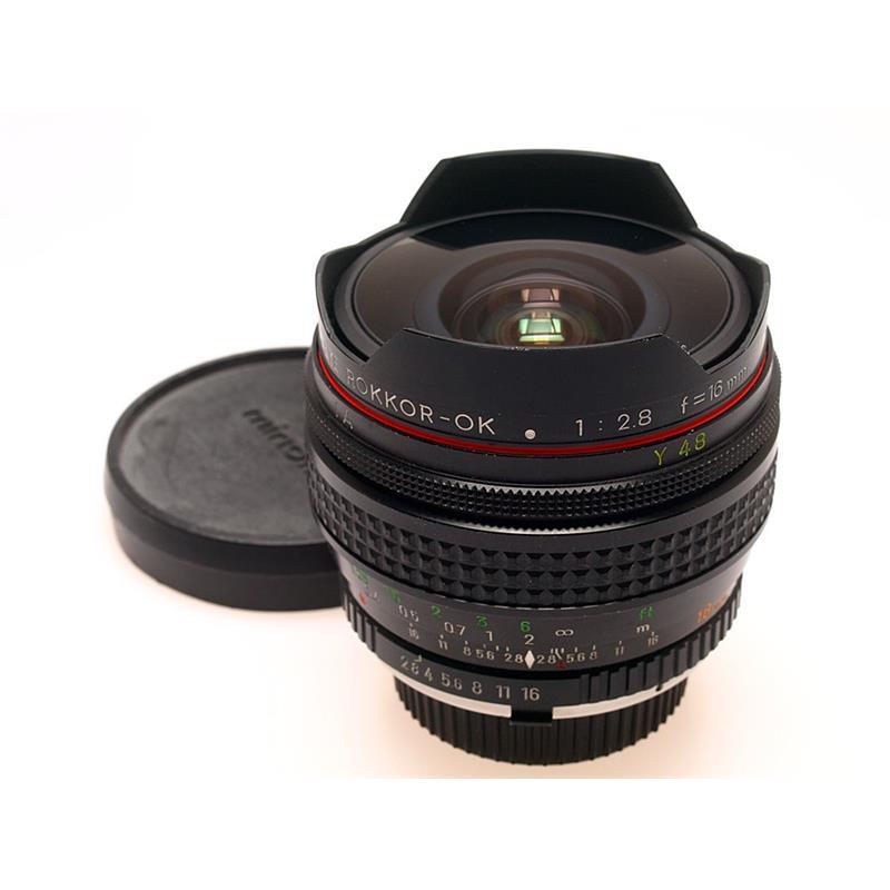Minolta 16mm F2.8 MC Fisheye Thumbnail Image 0