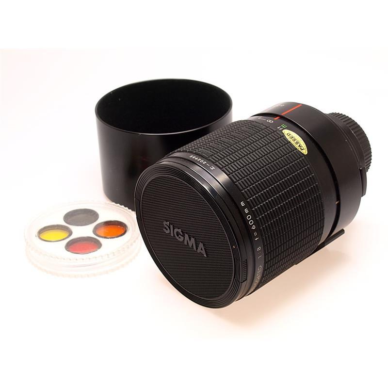 Sigma 600mm F8 Reflex - Minolta Thumbnail Image 0