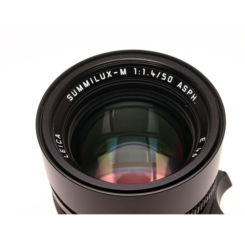 Leica 50mm F1.4 Asph M Black 6bit Thumbnail Image 1