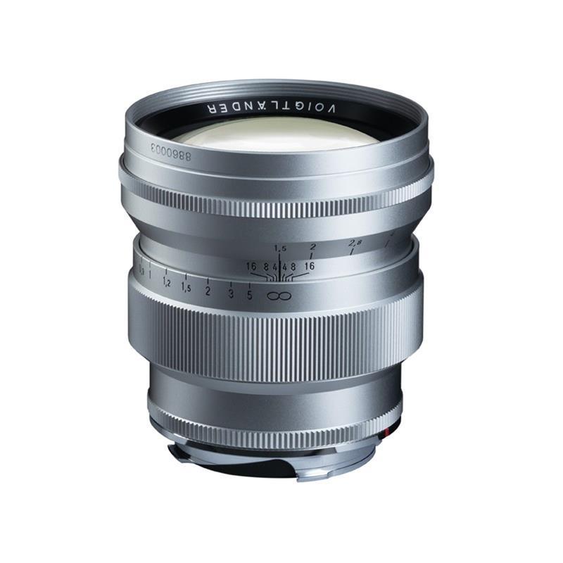 Voigtlander 75mm F1.5 VM Asph Nokton - Silver Thumbnail Image 0