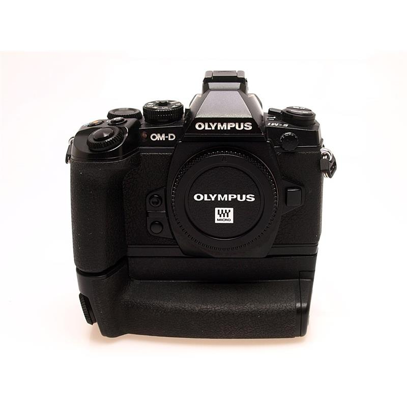 Olympus OMD EM-1 Body Only + HLD7 Grip Thumbnail Image 0