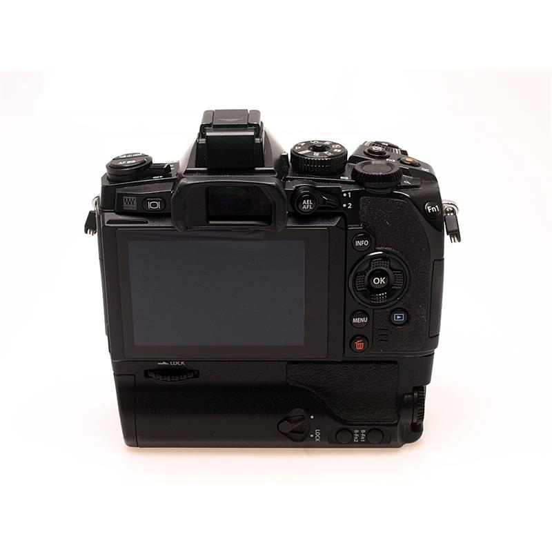 Olympus OMD EM-1 Body Only + HLD7 Grip Thumbnail Image 1