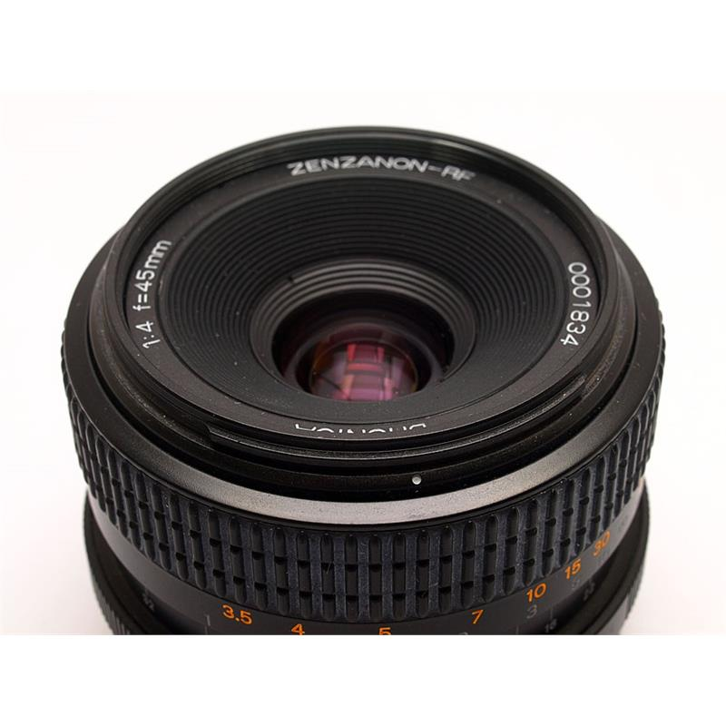 Bronica 45mm F4 RF + Finder Thumbnail Image 1