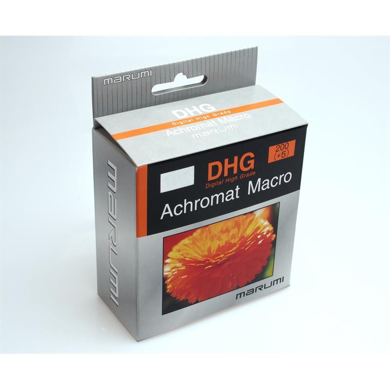 Marumi 62mm DHG Achromat Macro 200 (+5) Image 1