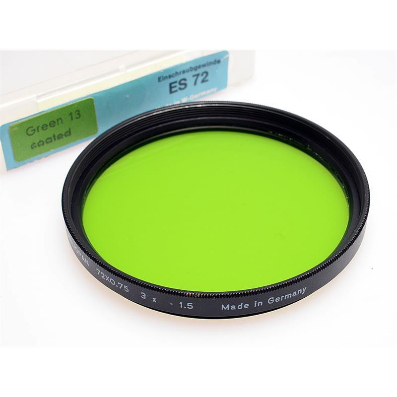 Heliopan 72mm Green Image 1
