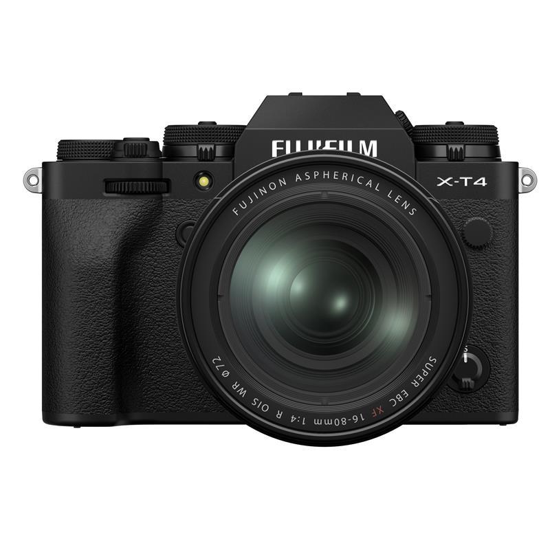 Fujifilm X-T4 + 16-80mm XF - Black Thumbnail Image 0