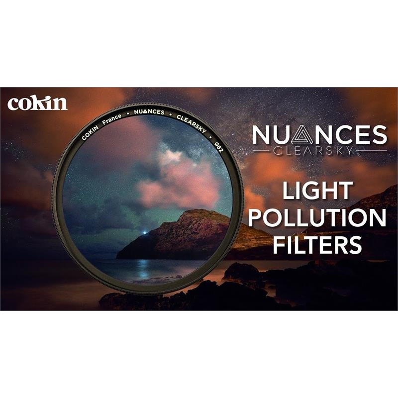 Cokin 62mm Nuances Clearsky Light Pollution Filter Image 1