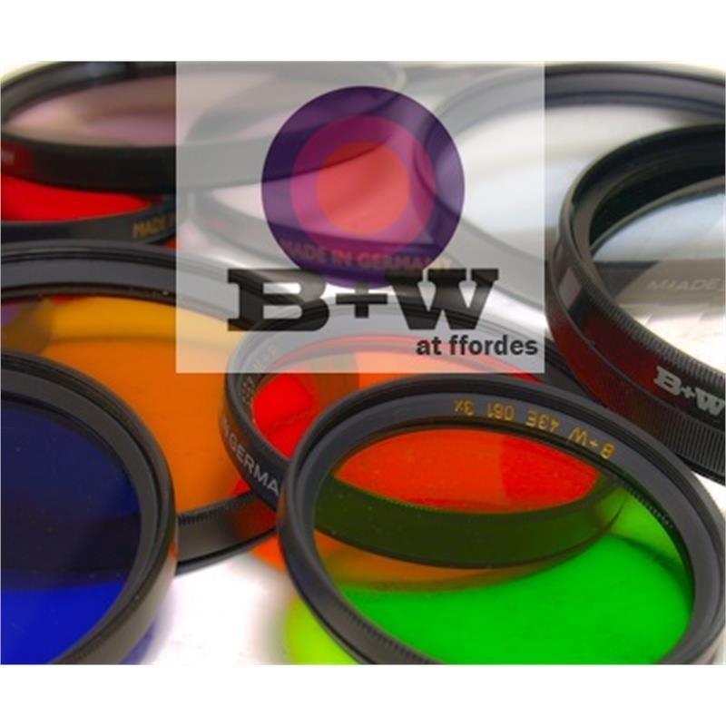 B+W 55mm Medium Blue (080)- Single Coated Image 1