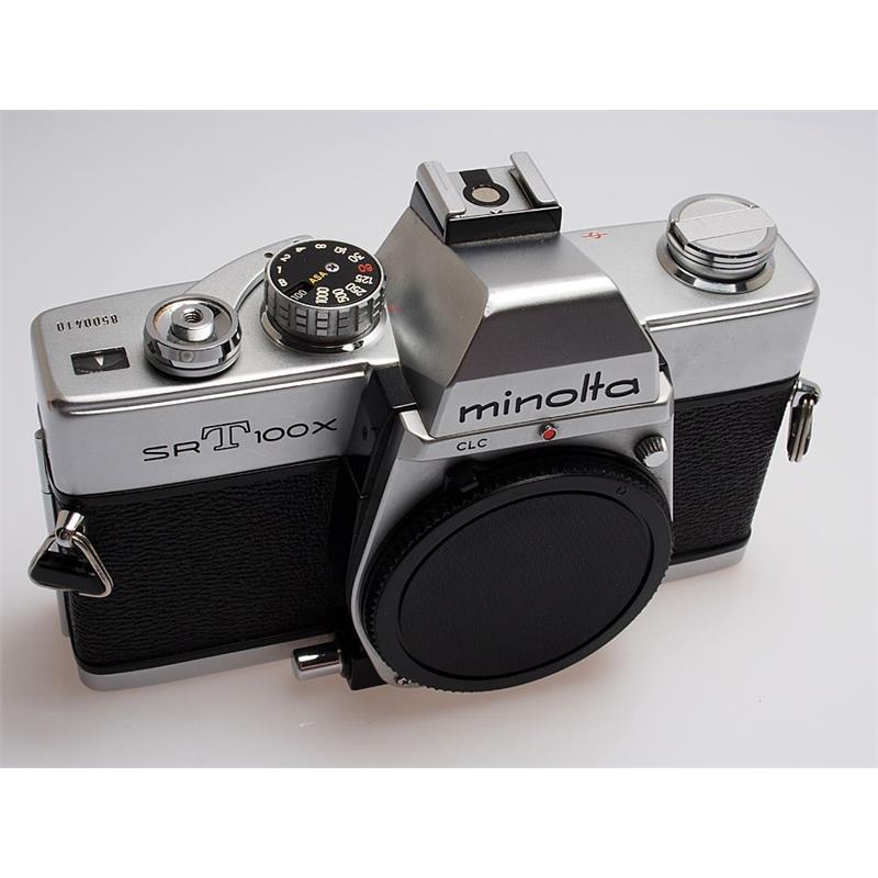 Minolta SRT100X Chrome Body Only Thumbnail Image 0