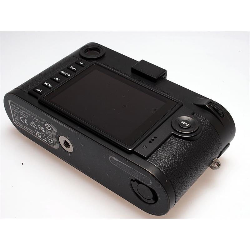 Leica M Monochrom (Typ 246) Body Only - Black Thumbnail Image 2