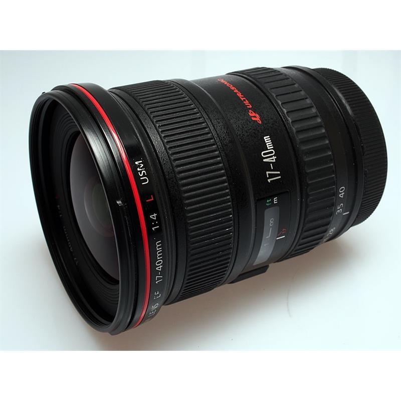 Canon 17-40mm F4 L USM Thumbnail Image 0
