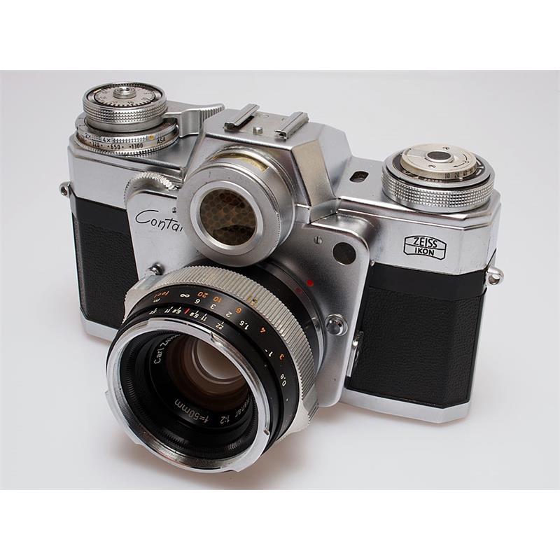 Contarex Bullseye + 50mm F2 Thumbnail Image 0