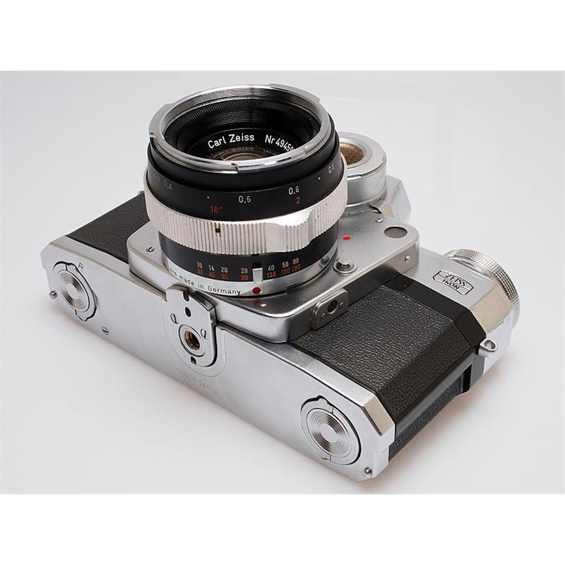Contarex Bullseye + 50mm F2 Thumbnail Image 2