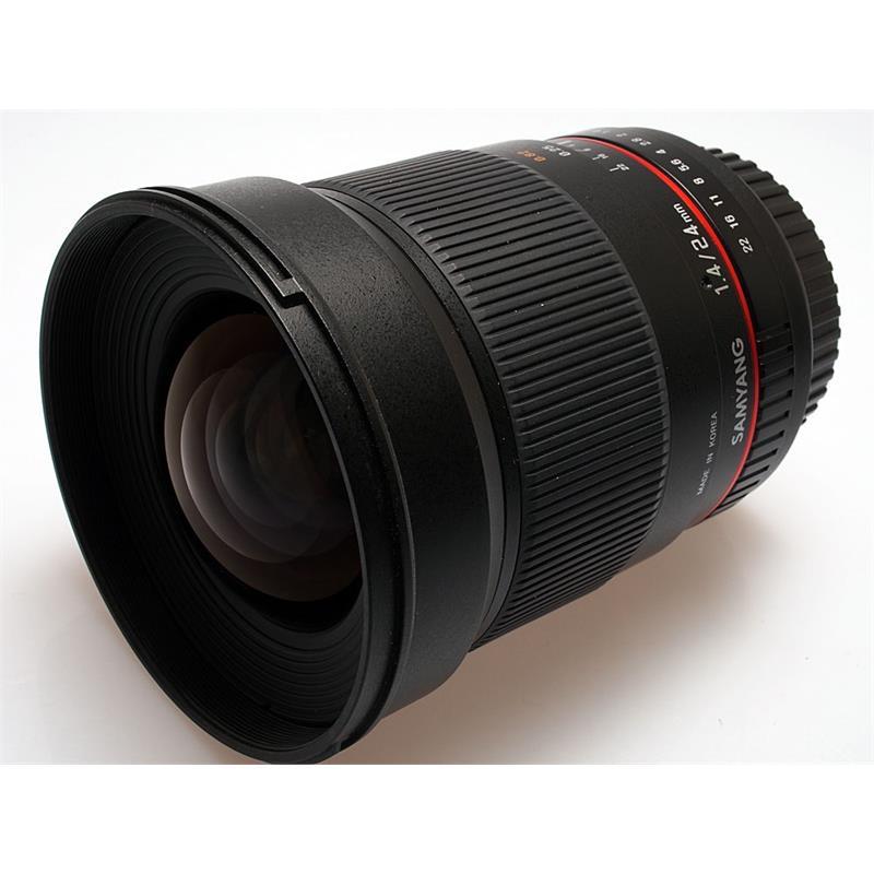 Samyang 24mm F1.4 ED IF AS UMC - Canon EOS Thumbnail Image 0