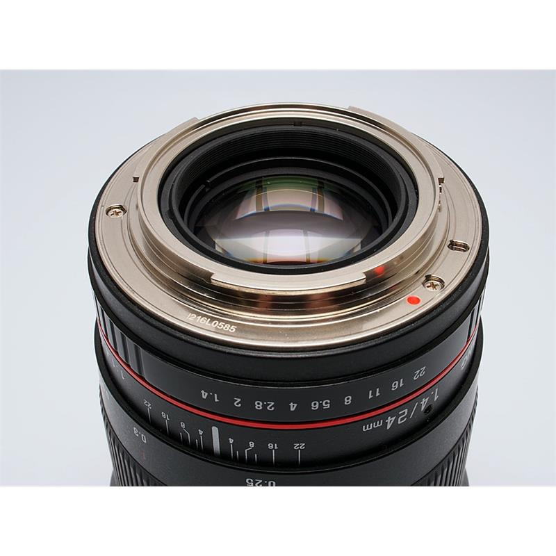Samyang 24mm F1.4 ED IF AS UMC - Canon EOS Thumbnail Image 2