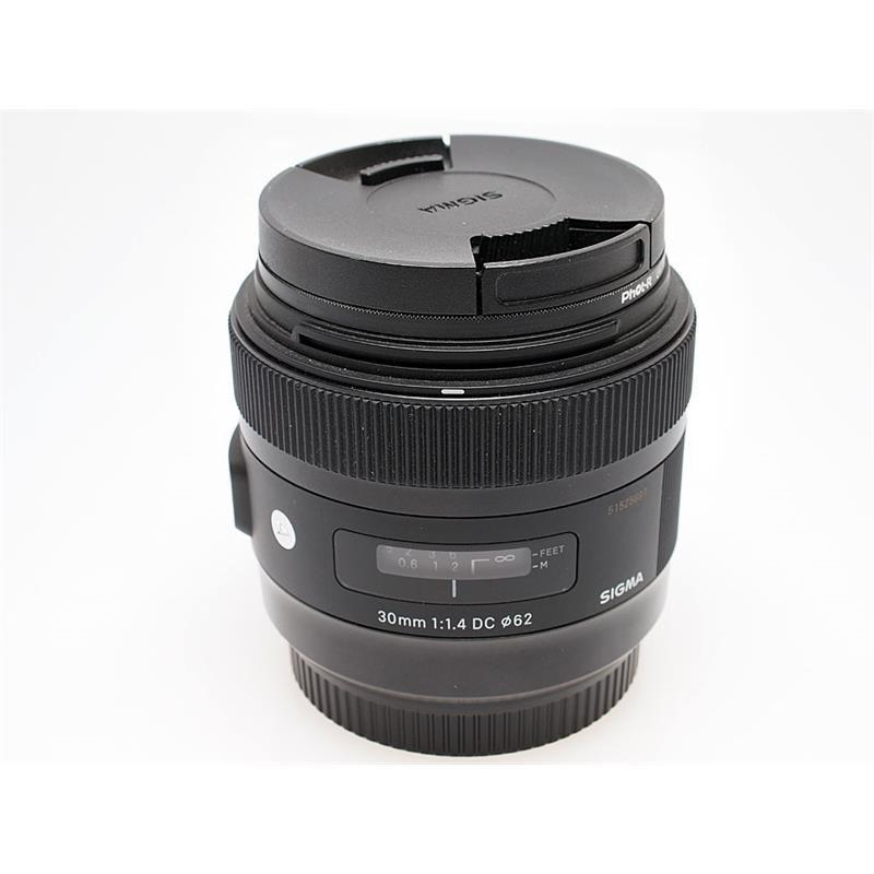 Sigma 30mm F1.4 EX DC HSM A - Canon EOS Thumbnail Image 0