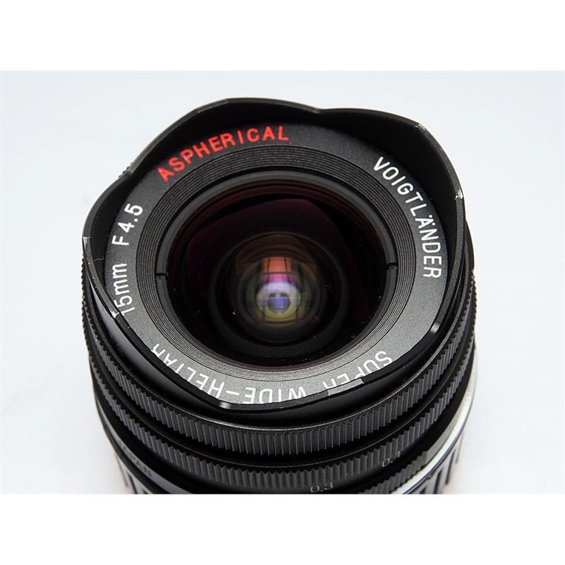 Voigtlander 15mm F4.5 + Finder Thumbnail Image 1