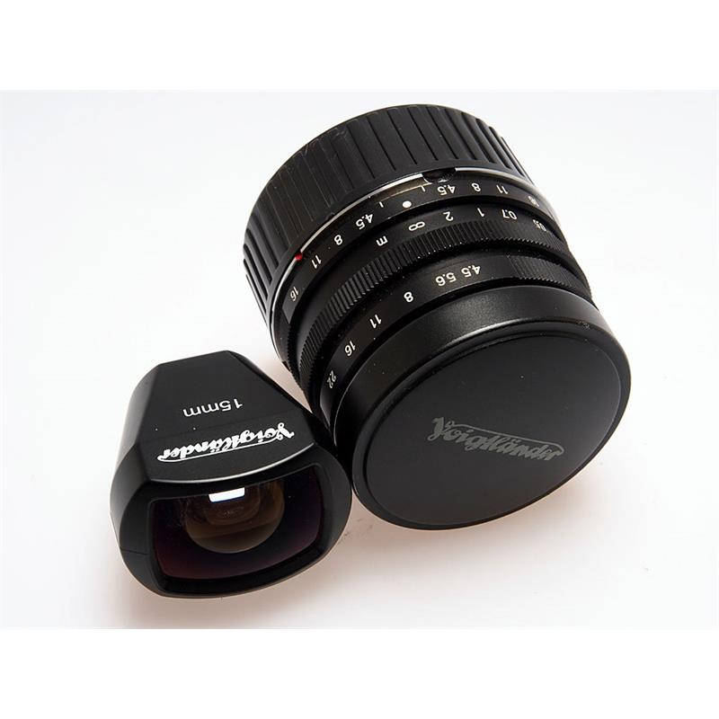 Voigtlander 15mm F4.5 + Finder Thumbnail Image 3