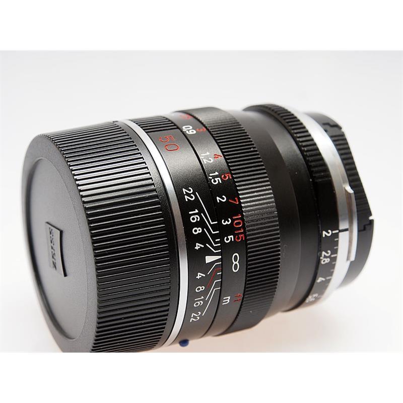 Zeiss 50mm F2 ZM - Black Thumbnail Image 0